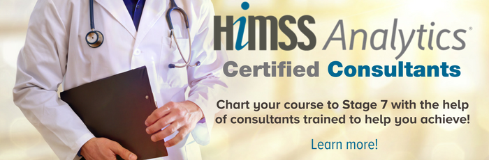 Work with HIMSS Analytics Certified Consultants